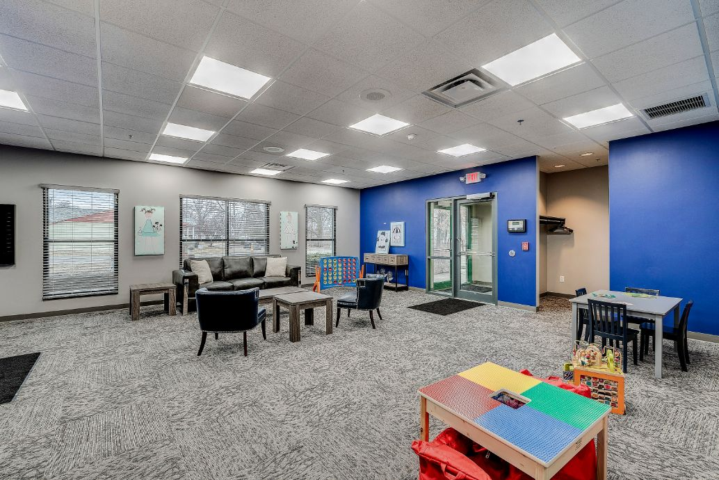 Indiana ABA Therapy Room with activities