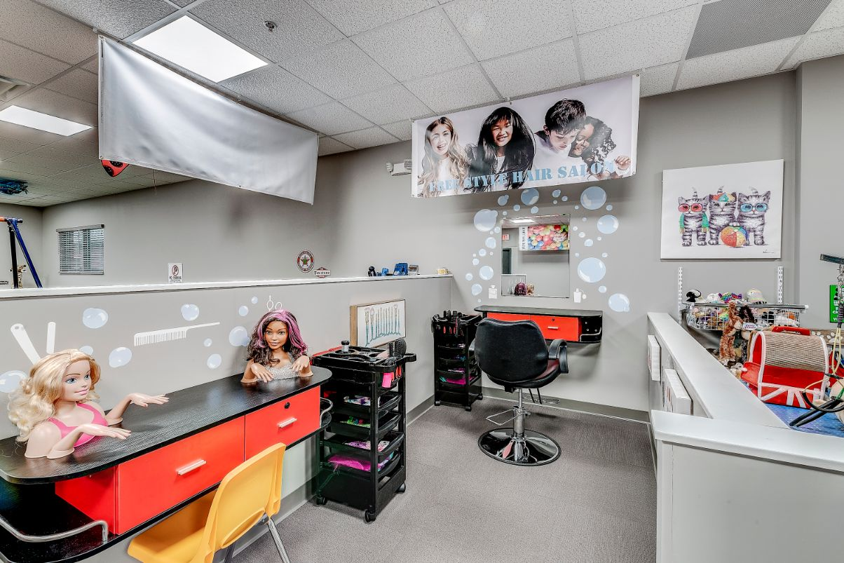 Indiana ABA Therapy Hair Salon
